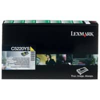 Lexmark C5220YS Original Toner Cartridge Yellow