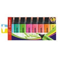 STABILO Highlighter Boss Original 2 mm Assorted Pack of 8