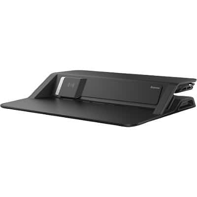 Fellowes Sit-Stand Workstation Lotus DX 8081001 Black
