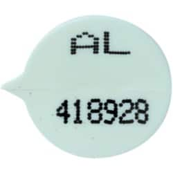 Val-U-Mail Numbered Security Seals White 500 pieces