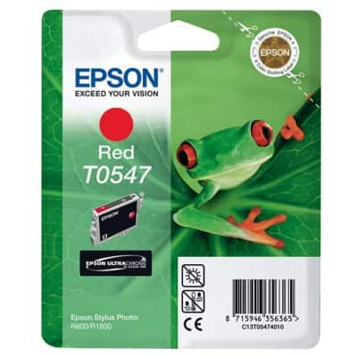 Epson T0547 Original Ink Cartridge C13T05474010 Red