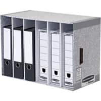 BANKERS BOX® System File Store Module Grey - Pack of 1