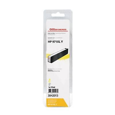 Office Depot Compatible HP 971XL Ink Cartridge CN628AE Yellow