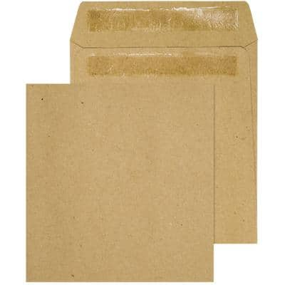 Blake Wage Envelopes Non standard 102 (W) x 108 (H) mm 90gsm Brown Plain Self Seal Pack of 1000