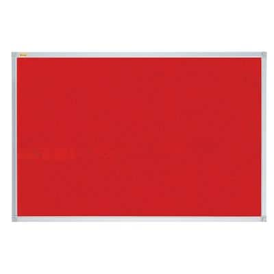 Franken Wall Mountable Notice Board 90 x 60 cm Red