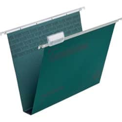 Rexel Crystalfile Classic Suspension Files 30 mm Capacity A4 Green - Box 50