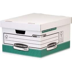 Fellowes bankers box System Archive Boxes Green 26.2 x 38.8 x 47.6 cm 10 pieces