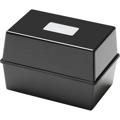 "Card Index System - 5"" X 3"" - Black"