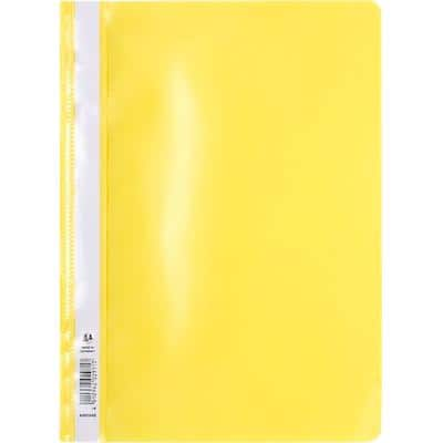 Exacompta Report Files A4 Yellow Polypropylene Pack of 25