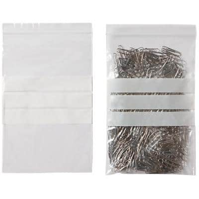 niceday Grip Seal Bag Transparent 22.9 x 15.2 cm 1000 Pieces