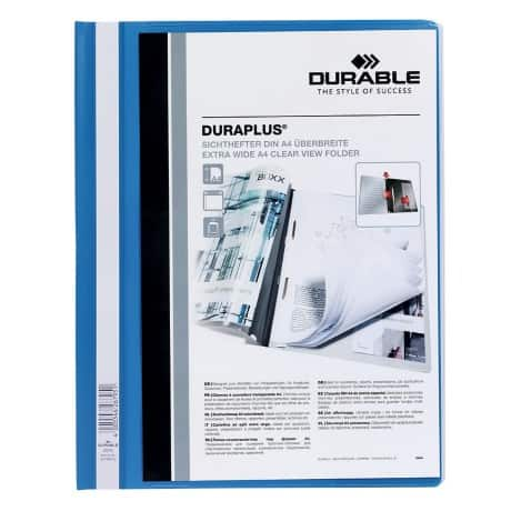 Durable Duraplus® Quotation File-Blue