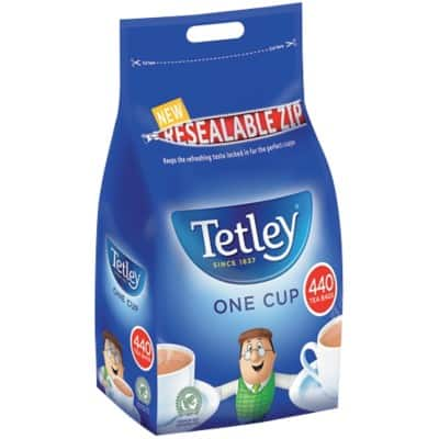Tetley Tea Bags One Cup Regular Pack of 440