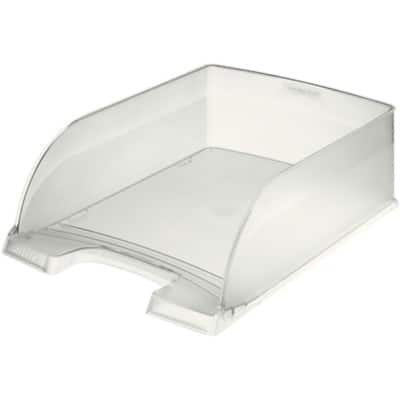 Leitz  Plus Letter Tray, Jumbo, Clear