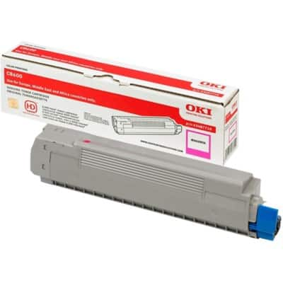 OKI 43487710 Original Toner Cartridge Magenta