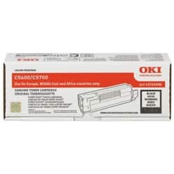OKI 43324408 Original Toner Cartridge Black