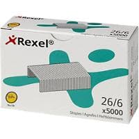 Rexel No.56 26/6 Staples 6025 Galvanized Pack of 5000