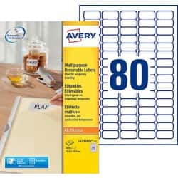 Avery Mini Multipurpose Labels L4732REV-25 White 2000 labels per pack