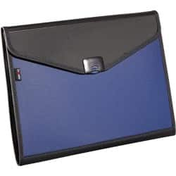 Snopake 6-part executive organiser - blue