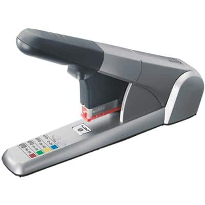 Leitz Heavy Duty Stapler WOW 5551 80 Sheets Grey