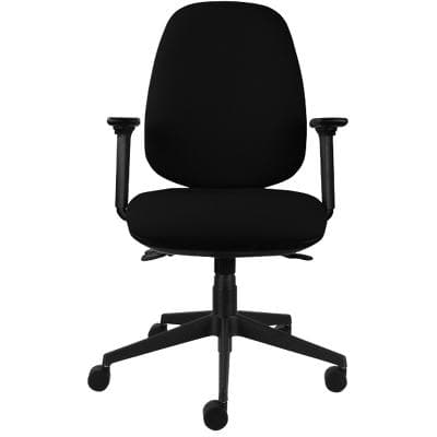 Energi-24 Ergonomic Office Chair Back Care Basic Tilt Black