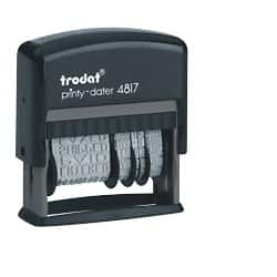 Trodat Self-inking Stamp Ecoprinty 4817 Black 46 mm