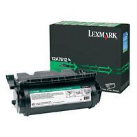 Lexmark 12A7612 Original Toner Cartridge Black