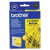 Brother LC1000Y Original Ink Cartridge Yellow