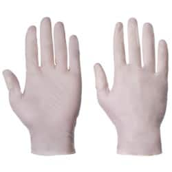 Supertouch Gloves 10503 latex size l Transparent 100 pieces