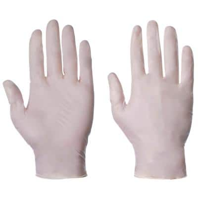 Supertouch Gloves 10503 Latex Size L Blue 100 Pieces