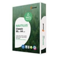 Nautilus 100% Recycled Paper A4 80 gsm White 112 CIE 500 Sheets