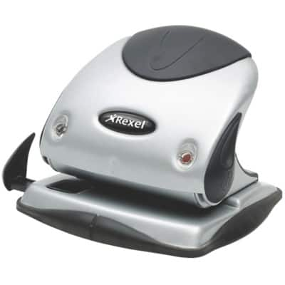 Rexel Hole Puncher P225 Silver, Black 25 sheets