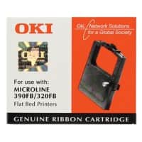 OKI Printer Ribbon 320, 390 Black