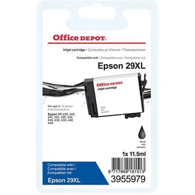 Office Depot Compatible Epson 29XL Ink Cartridge C13T29914012 Black