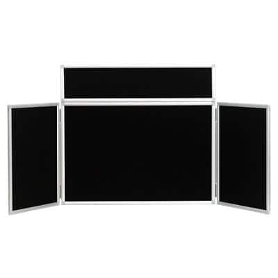 Tabletop Display Stand 531272 Black 923 x 223 mm