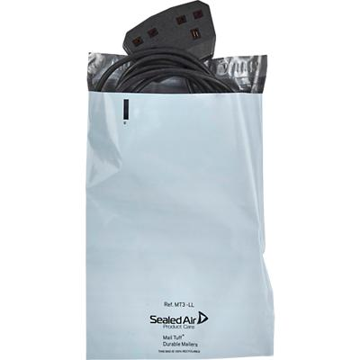 Sealed Air Mail Tuff Mailing Bags MT3 350 (W) x 250 (H) mm Waterproof White Pack of 100