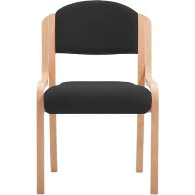 Visitor Chair Bentwood Black