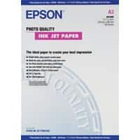 Epson Photo Paper C13S041068 A3 102gsm White Matt 100 Sheets