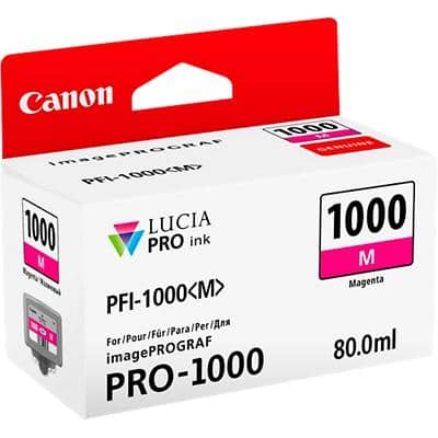 Canon PFI-1000M Original Ink Cartridge Magenta