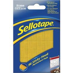 Sellotape Sticky Hook pads – Pack of 96