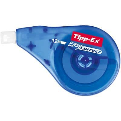 Tipp-Ex Correction Tape Roller Easy Correct 4.2 mm x 12 m Blue