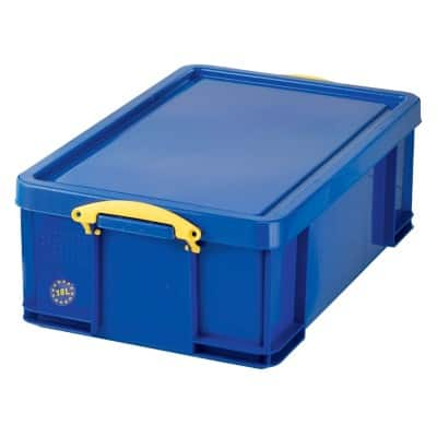 Really Useful Boxes Storage Box 18B Blue 20 x 48 x 39 cm