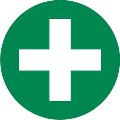 First Aid Sign First Aid SAP 6 x 6 cm