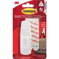 Command Hook Strip Damage- Free Hanging White