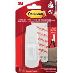 Command™ Large Designer Hook (Holds upto 2.25 kg)