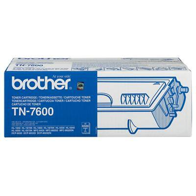 Brother TN7600 Original Black Toner Cartridge