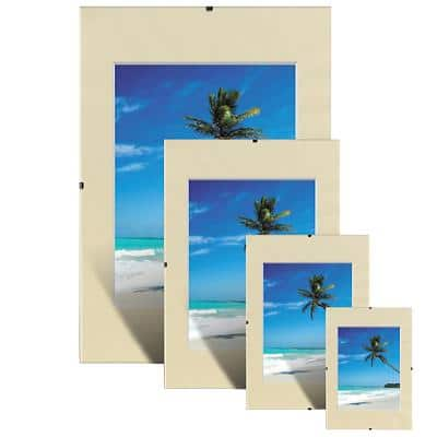 Niceday Wall Mountable Clip Frame 978924 A2 400 x 500 mm Transparent Pack of 2