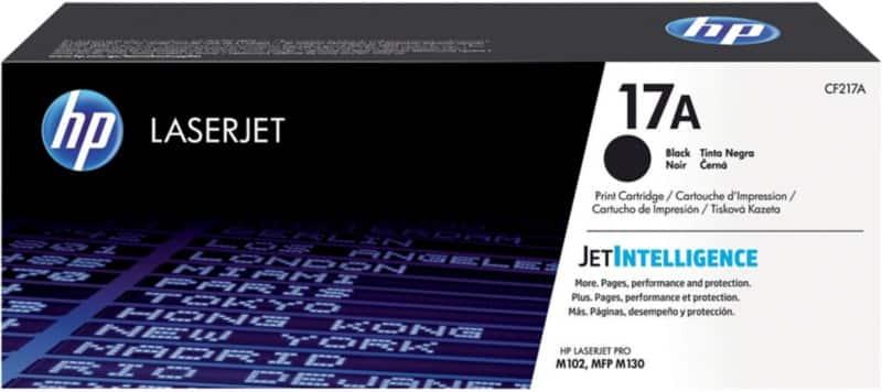 HP 17A Original Toner Cartridge CF217A Black
