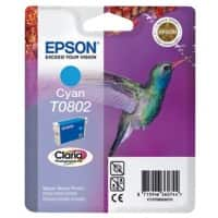 Epson T0802 Original Ink Cartridge C13T08024011 Cyan