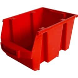 Viso Storage Bin SPACY3R Red 12.6 x 23.5 x 15 cm