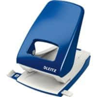 Leitz NeXXt Metal 2 Hole Punch 5138 40 Sheets Blue